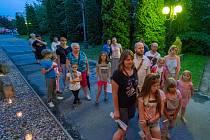 Oblastní muzeum v Chomutově se v roce 2018 zapojilo do akce Noc v muzeu aneb Když muzeum spí. Expozice s živými obrazy v budově historické radnice navštívilo více jak 600 lidí a v hlavní budově s hvězdářskou věží byly další čtyři stovky návštěvníků. V bud