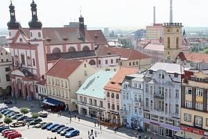 Centrum Chomutova.
