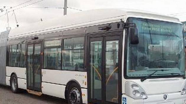 V NOVÉM. Trolejbus vyjede během druhé poloviny ledna.