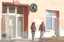 Snímek z Lipské ulice v Chomutově.