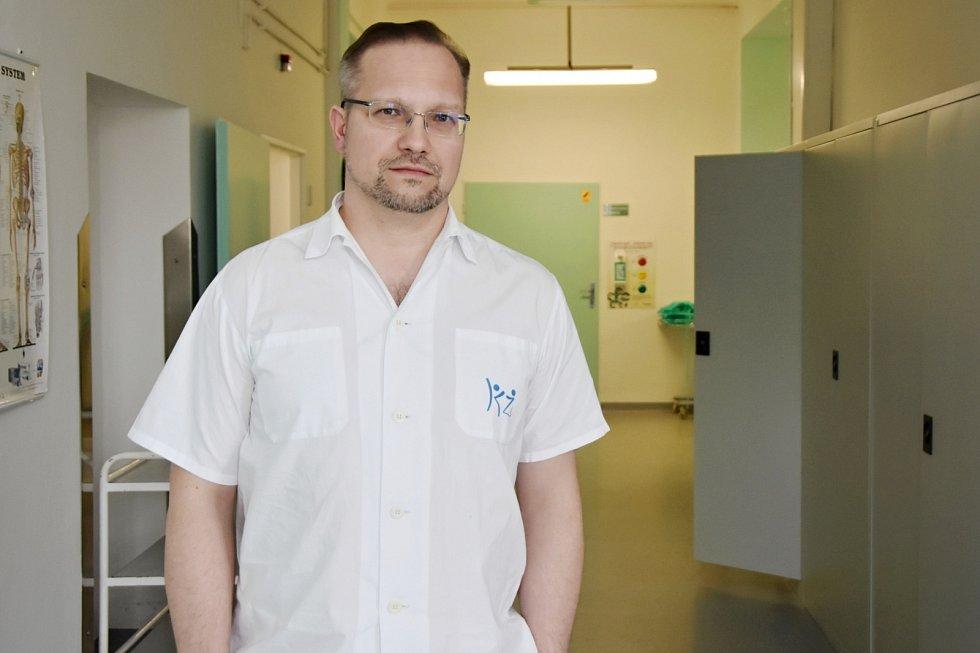 Primář ortopedického oddělení v chomutovské nemocnici Jiří Jurča