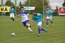 1. FC Spořice - SK Hrobce 3:2 (1:1).
