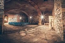 Podzemní prostory pod chomutovskou radnicí jsou rozsáhlé. Čekají na rekonstrukci a využití.