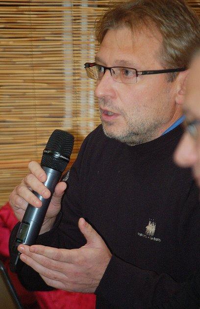Václav Kordulík, investor, který chce startovací byty stavět.