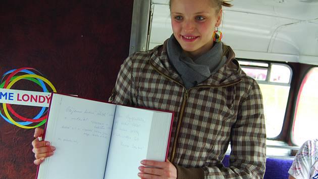 Simona Baumrtová se ve slavném DoubleDeckeru zapsala do kroniky projektu.