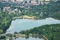 Kamencové jezero.