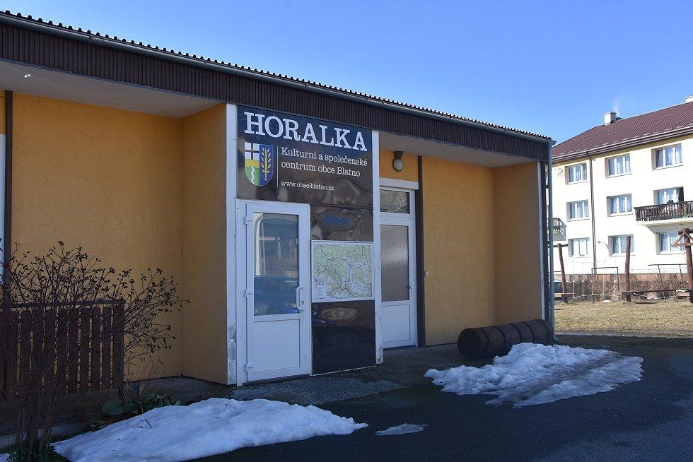 Horalka je blatenský kulturák.