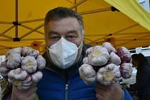 Do Chomutova přijeli farmáři z kraje.