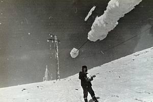 V lednu 1985 hrozil blackout i na Měděnci