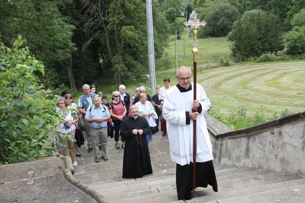 Letní poutě v Květnově.
