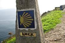 Symbolem svatojakubského putování je mušle. Ta by se měla objevit i ve značení mezi Kadaní a německým Aue.