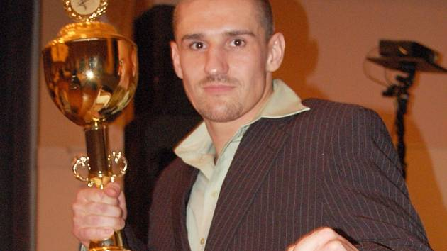 Thaiboxer Jiří Žák.