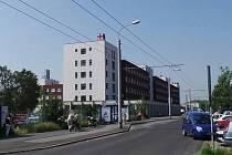 Chomutovská nemocnice.