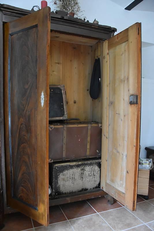 Kufry, do nichž si předci Jiřího Spilky směli sbalit jen pět kilogramů věcí. Měli na to půl hodiny.