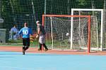 2. liga CHLMF utkání RN Střechy - Unique (bílé návleky)