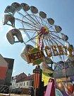 Hornická pouť přilákala do centra Jirkova tisíce lidí na zábavu, atrakce a muziku.