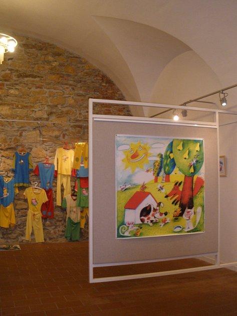 Snímek z výstavy.