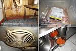 Špína v kadaňské restauraci Švejk na snímcích hygieniků