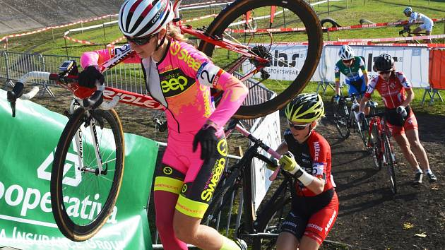 Martina Mikulášková také v Belgii potvrdila, že patří k nejlepším českým cyklokrosařkám.