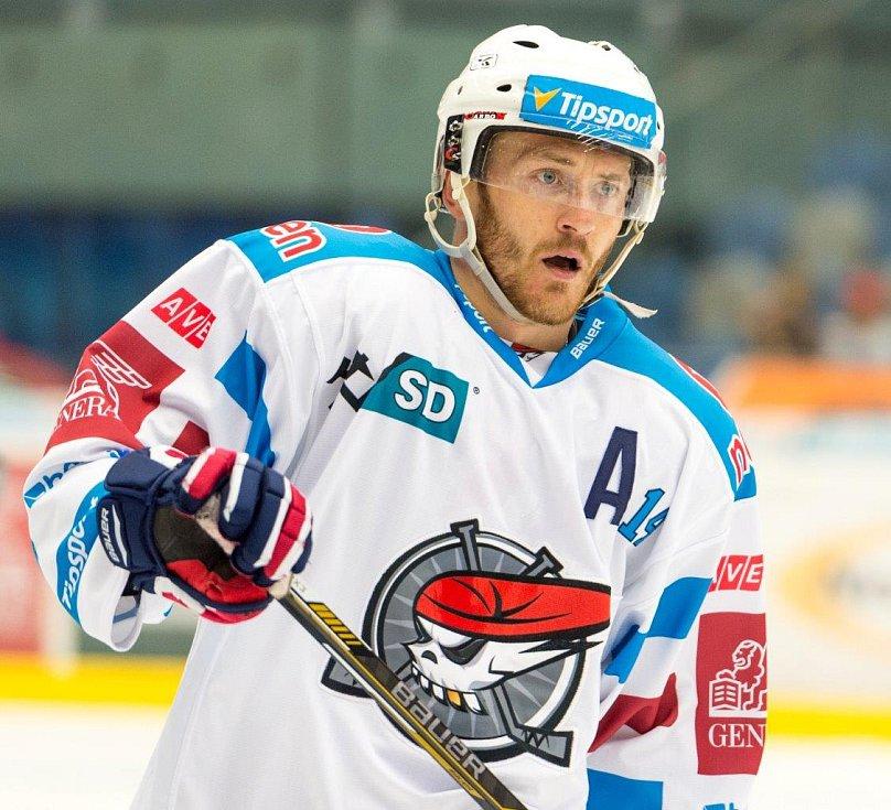 Z extraligového zápasu Piráti Chomutov - HC Škoda Plzeň, který domácí vyhráli 6:4.