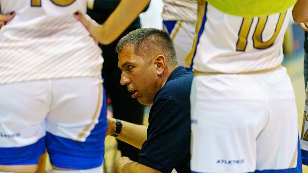 Trenér Tomáš Eisner.