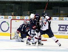 Piráti Chomutov hostili doma hokejisty HC Slovan Bratislava