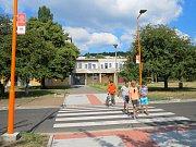 V Kadani přibyl nový, bezpečný přechod pro chodce.