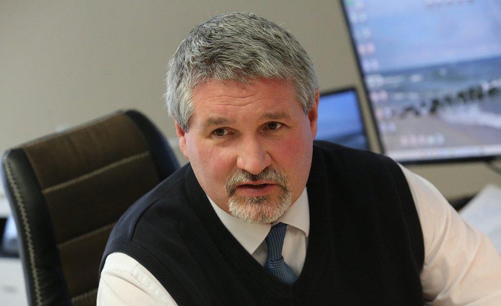Ředitel MSSS Vejprty Viktor Koláček.