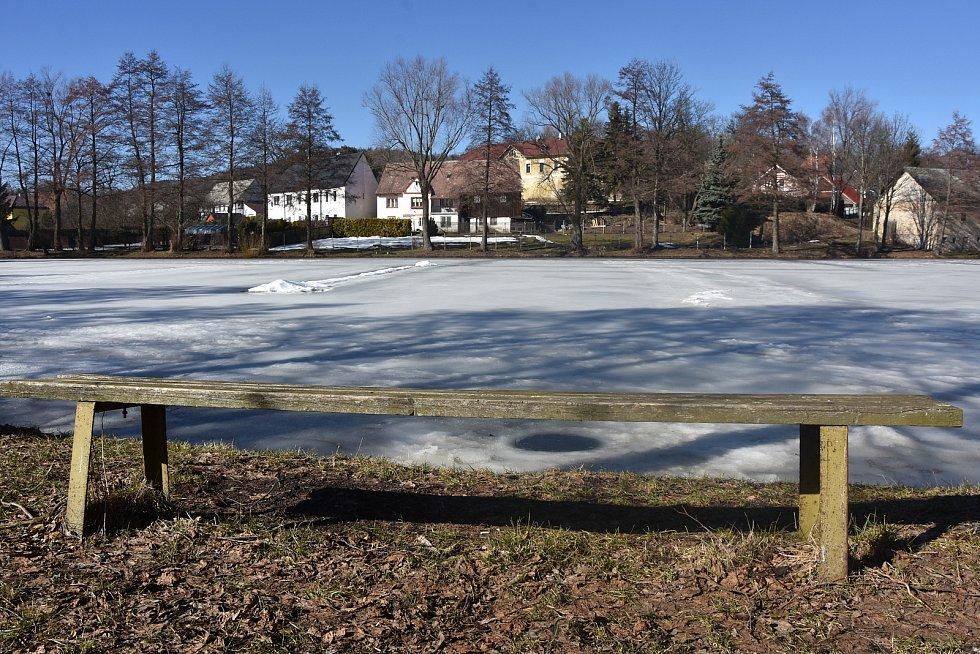 Blatenský rybník.