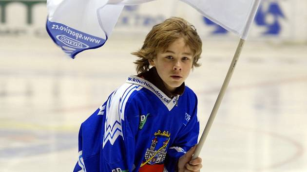 Vlajkonoši KLH Chomutov.