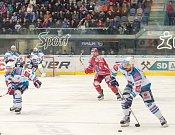 Piráti Chomutov - Oceláři Třinec, 4. zápas čtvrtfinále play off