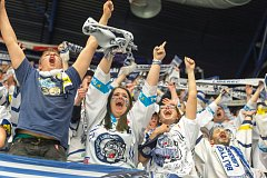 Semifinále play off hokejové extraligy - 6. zápas: Chomutov – Bílí Tygři Liberec.