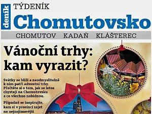 Týdeník Chomutovsko z 20. listopadu 2018
