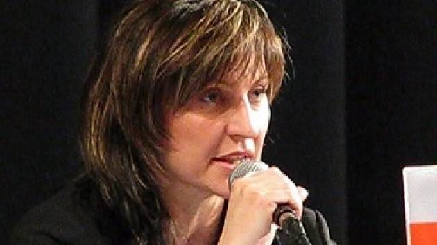 Primátorka Ivana Řápková.