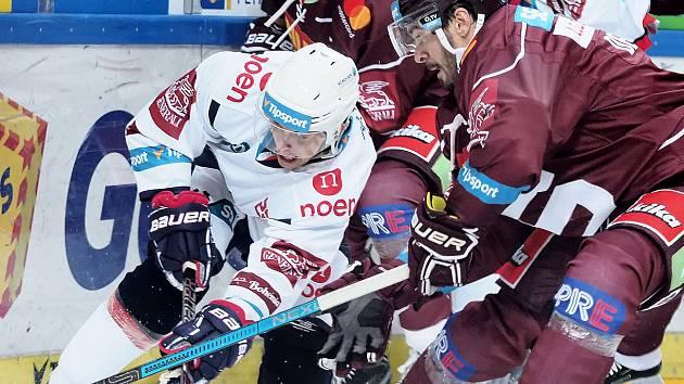 Tipsport extraliga hokej HC Sparta Praha : Pirati Chomutov
