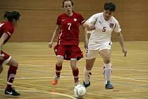 Ženská futsalová reprezentace se utká v Kadani a Chomutově s Ruskem