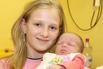 Mamince Janě Izavčukové z Března u Chomutova se 20.12. 2008 ve 13.39 hodin narodila dcera Anna Luxová. Na snímku se s malou Aničkou vyfotila sestra Karla. Holčička měří 50 centimetrů a váží 3,05 kilogramů.
