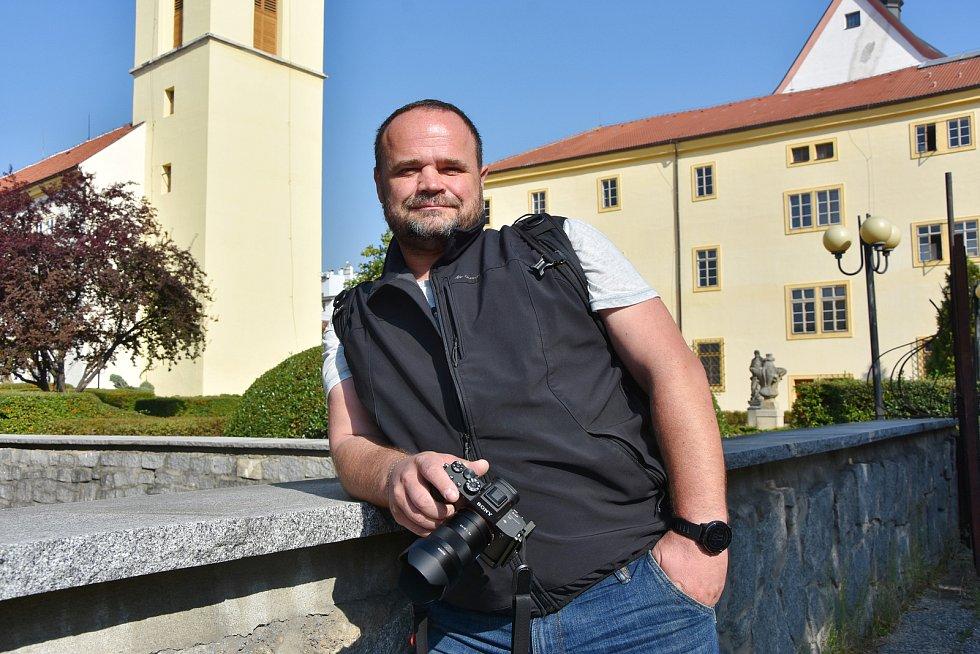Fotograf Chomutovského Deníku Roman Dušek.