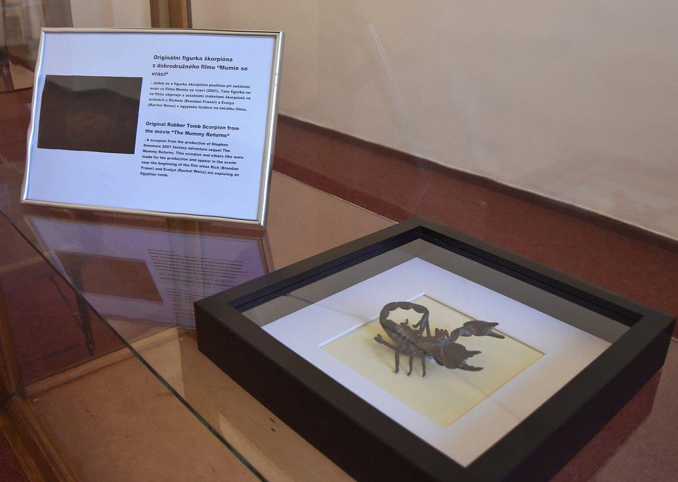 """Jeden z mnoha škorpionů, který si """"zahrál"""" ve filmu Mumie."""