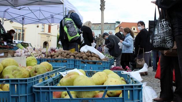 Severočeské farnářské trhy budou v Chomutově probíhat i o prázdninách.