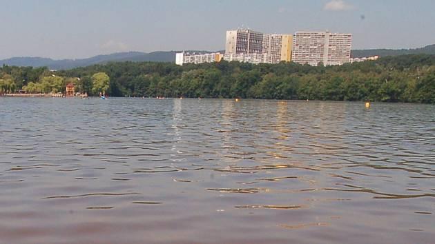 Kamencové jezero v Chomutově.