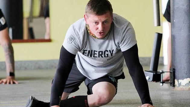 Kondiční trenér Petr Švehla.
