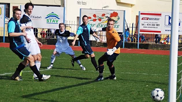 Obrat ve vývoji zápasu započal hostující Radek Kupka, který snížil na 1:2.