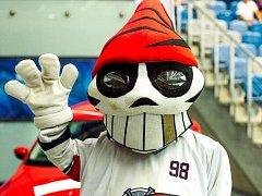 Maskot Pirátů Chomutov. Ilustrační foto