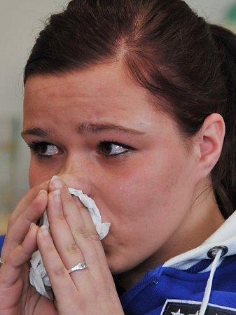 Ani Maruška nevydrží líčit svůj příběh bez slz.
