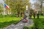 VChomutově si připomněli výročí konce druhé světové války.