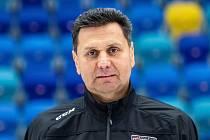 Trenér Vladimír Růžička.