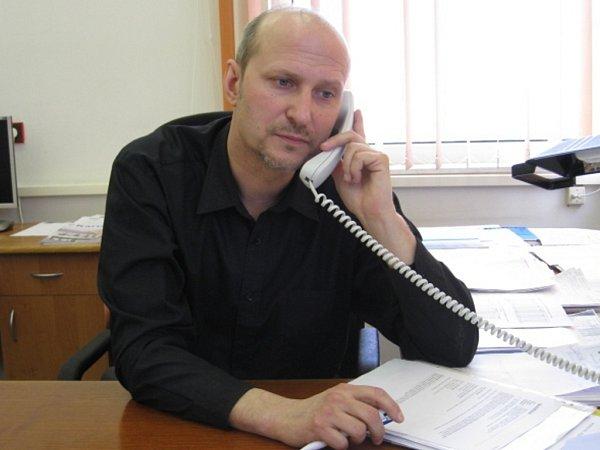 Generální ředitel DPCHJ Jiří Melničuk.