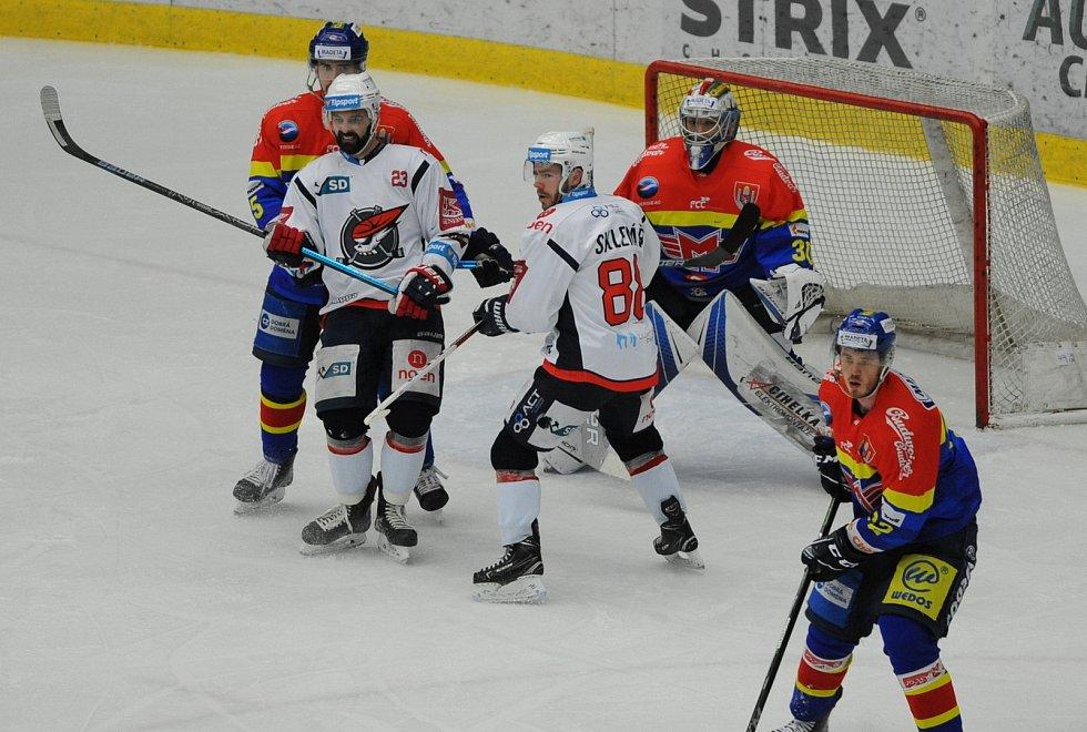 Chomutov vykřesal naději na zvrat baráže, porazil České Budějovice.