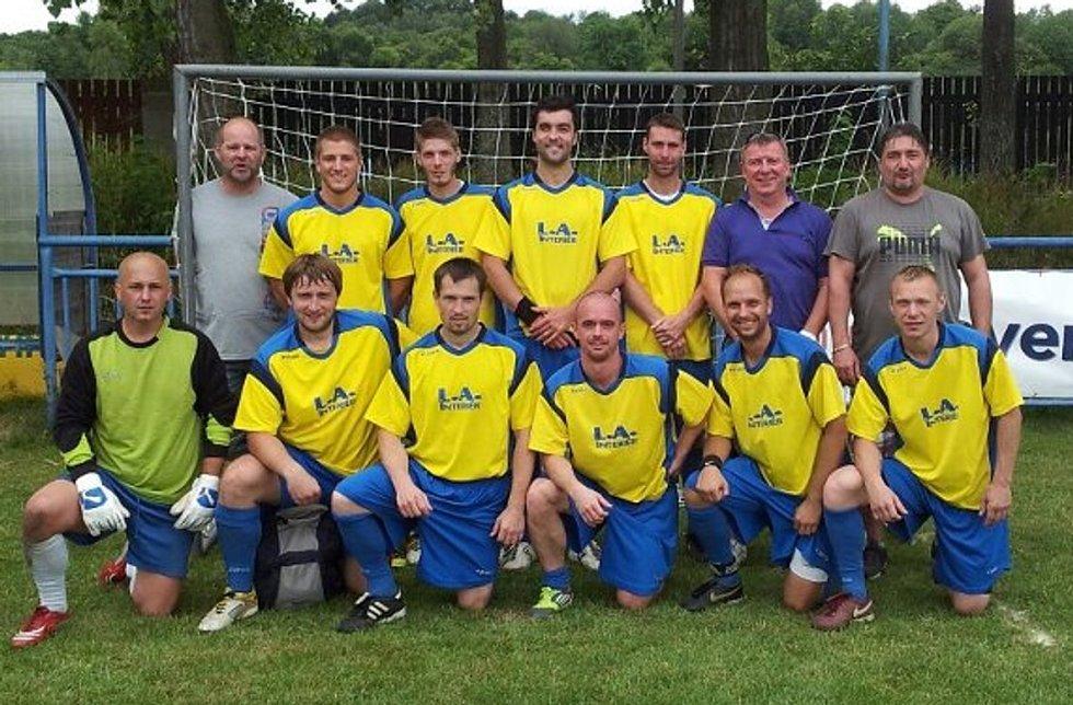 Vítěz Duha Cupu 2012 - mužstvo L.A. Interiér Chrontoš.
